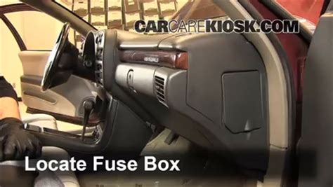 remove fuse box    chevrolet silverado  interior fuse box location