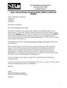 Sle Letter Transfer Business Ownership Change Of Business Ownership Letter The Letter Sle