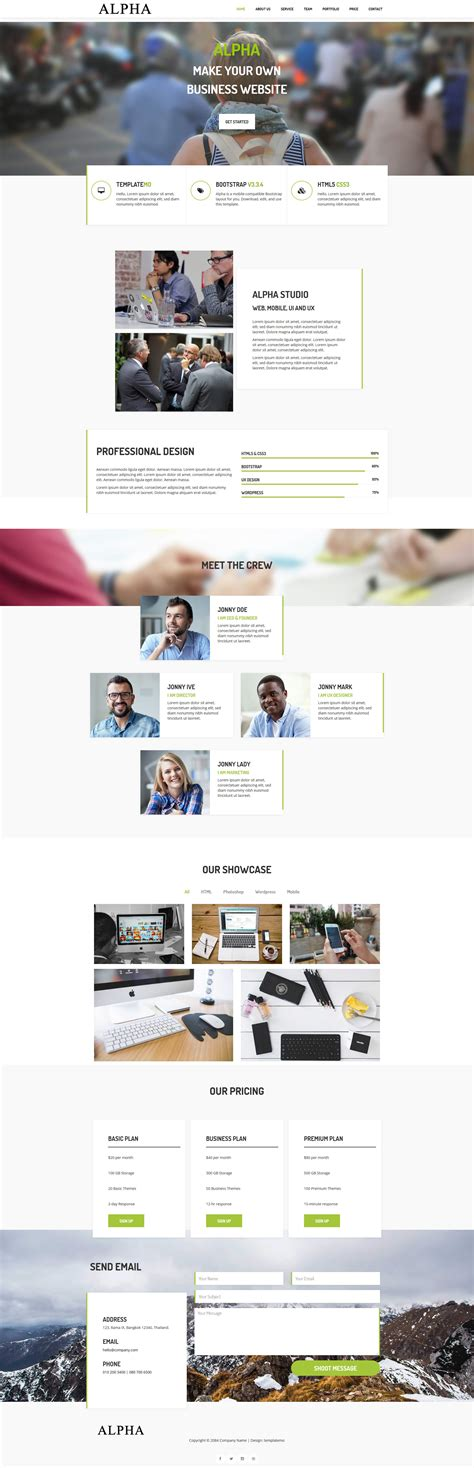 bootstrap v3 themes template 465 alpha