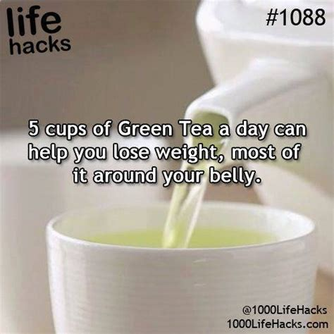 How Much Do You Lose On A Tea Detox by 5 Cup Of Green Tea A Day Can Help You Lose Weight Most Of
