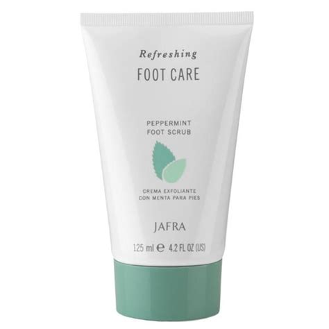 Scrub Jafra jafra peppermint foot scrub bath jafra spa collections scrub