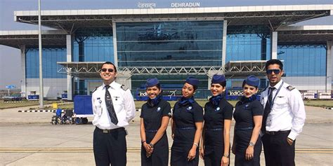 Cabin Crew Indigo by Indigo Makes Dehradun Destination 40