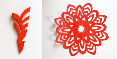 How To Make Awesome Paper Snowflakes - c 243 mo hacer copos de nieve de papel de 5 puntas pequeocio