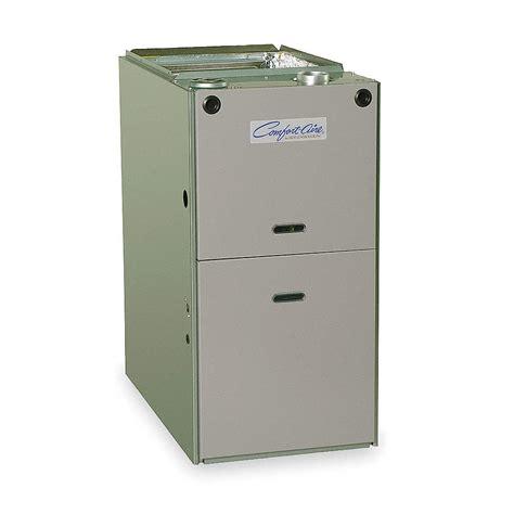 comfort aire furnace comfort aire 80 plus pct eff furnace upflow 100k btuh