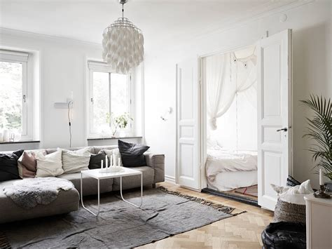 scandinavian apartment tiny scandinavian apartment decorated with style digsdigs