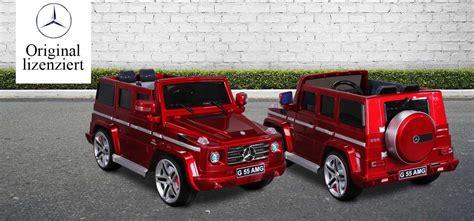 G55 Kinderauto by Huber Shop24 Kinderauto Mercedes Amg G55