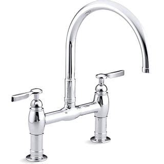best price on kitchen faucets bridge kitchen faucets overstock the best prices