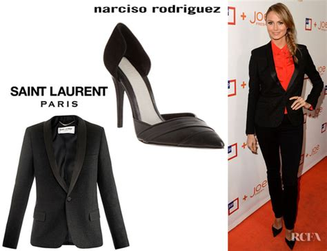 Who Wore Narciso Rodriguez Better Sevigny Or Amanda Bynes by Keibler S Laurent Glitter Crepe Wool Blazer