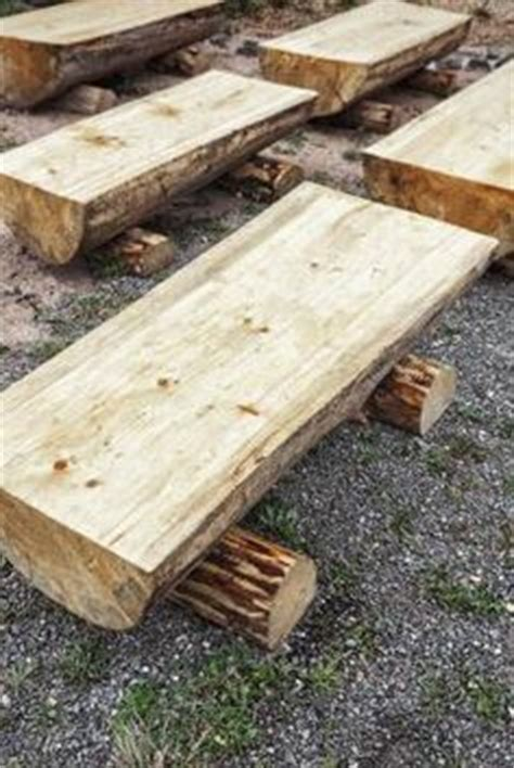 how to make a bench from a log 1000 ideas about log benches on pinterest log furniture