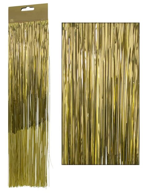 gold lametta tinsel icicles 300 strands christmas