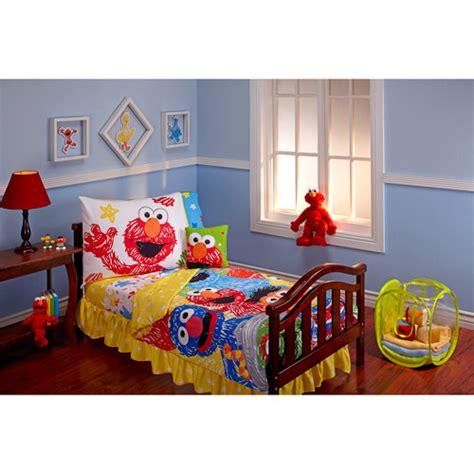 sesame street bedroom sesame street scribbles 10 piece bedding set walmart com