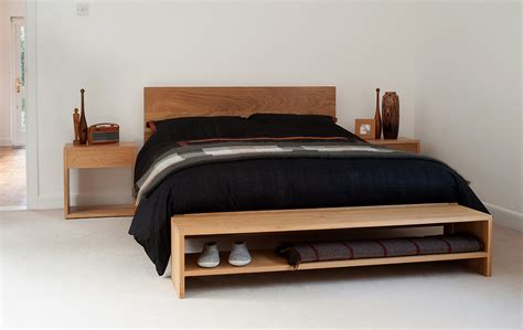 bedside benches end of bed bench bedroom storage natural bed company