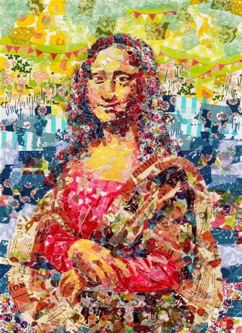 popular artwork famous paintings recreated with colorful masking tape