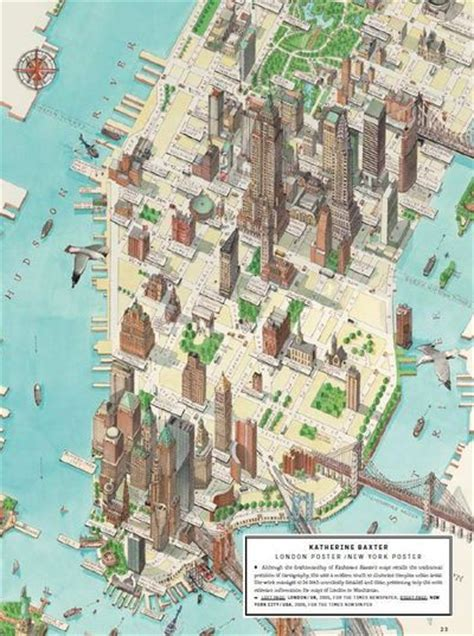 map of nyc with landmarks a stylized map with some choice landmarks