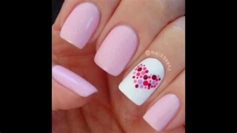 imagenes de uñas decoradas sencillaa dise 241 os de u 241 as faciles y divertidos youtube