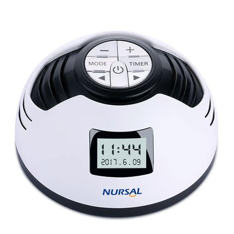 hangsun white noise sound machine sleep therapy spa generator s1 10 non looping