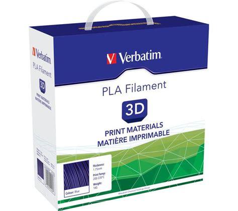 Cartridge Printer 3d verbatim pla filament 3d printer cartridge 1 kg blue deals pc world
