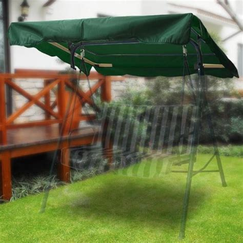 Patio Swing Green Green Beautiful Outdoor Patio Swing Canopy Replacement