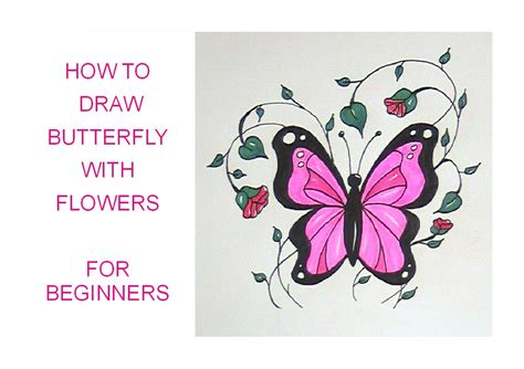 top 28 how to plant flowers for beginners how to draw a butterfly with flowers easy version
