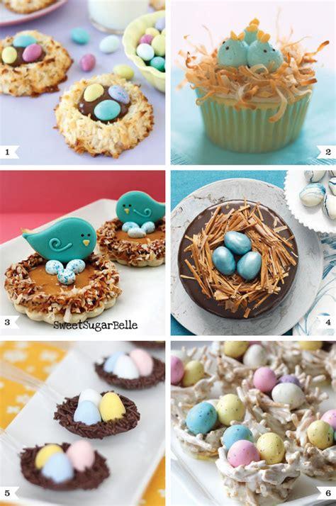 easter recipes bird s nest desserts for easter chickabug