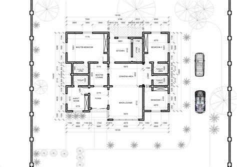Floor Plans Bungalow Style by 4 Bedroom Bungalow House Designs Floor Plan Of 5 Bedroom
