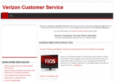 verizon fios help desk verizon customer service phone number