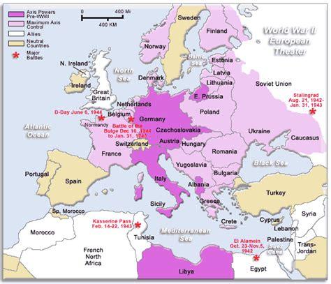 world war 2 africa map european theater map