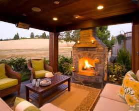 fireplace patio beautiful homes design