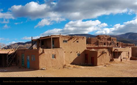 what is an adobe house taos pueblo unesco world heritage site