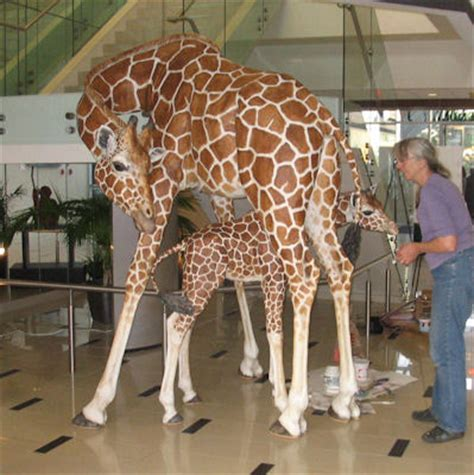 How To Make A Paper Mache Giraffe - lori hugh giraffes out of paper mache home decor