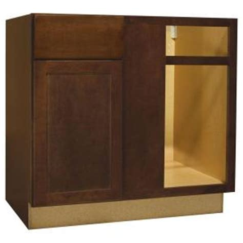 Home Depot Corner Cabinet by Hton Bay 36x34 5x24 In Shaker Blind Base Corner