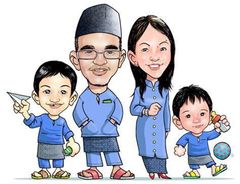 gambar kartun keluarga cake ideas and designs