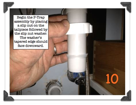 Replacing A Kitchen Faucet Image Gallery P Trap Washer