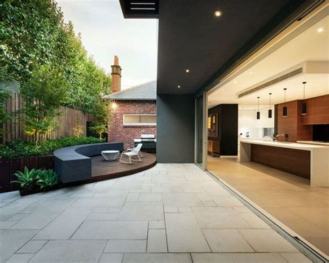 Exterior design modern home with modern patio and modern paver