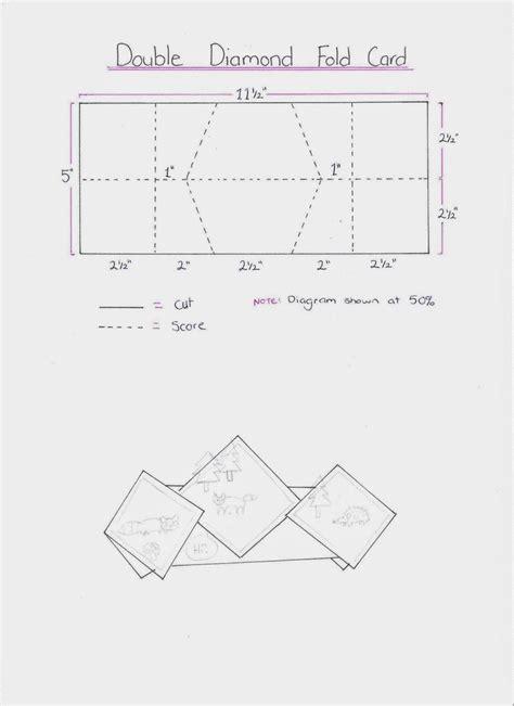 mini fold card template 17 best images about templates werkbeschrijvingen on