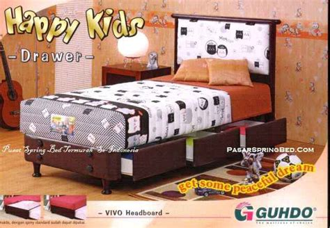 Kasur Sorong Anak Guhdo harga guhdo bed termurah di indonesia guhdo happy drawer headboard vivo
