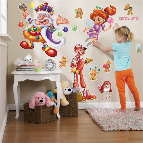 candyland wall mural candyland wall decals birthdayexpress