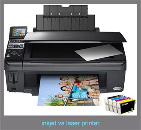 color laser vs inkjet inkjet vs laser printer printer color laser