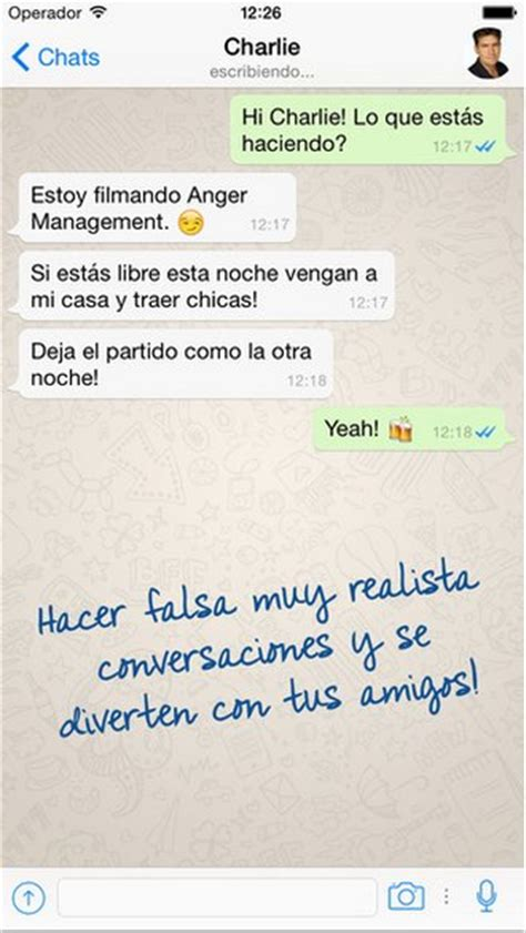 imagenes wasap embarazo crea chats falsos de whatsapp para divertirte con tu