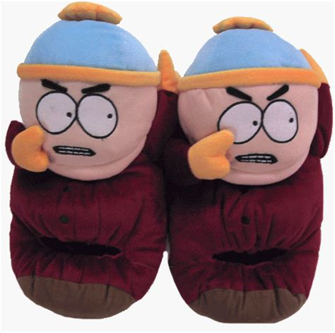 south park slippers do you own a pair of those big plush slippers we