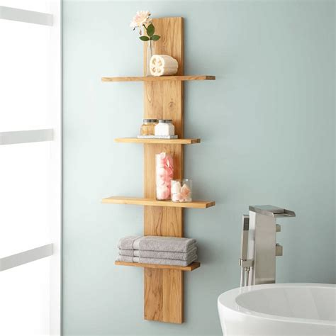 How to decorate bathroom shelves for enhanced relaxation
