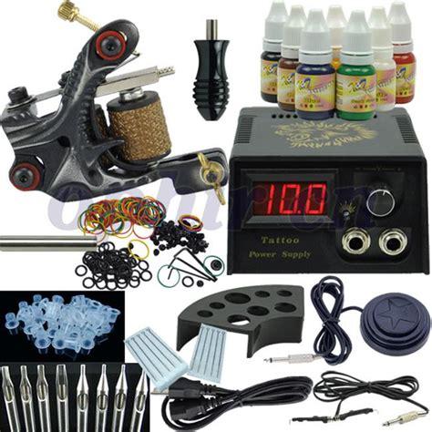 best tattoo starter kits simple wholesale ophir beginner rotary kit tatoo machine