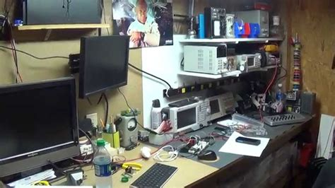 best home electronics work shop tour new workshop youtube