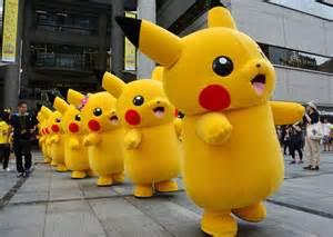 japanese pikachu pokemon go mascot costume fancy dress