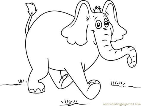 coloring pages horton the elephant the horton characters coloring pages coloring pages