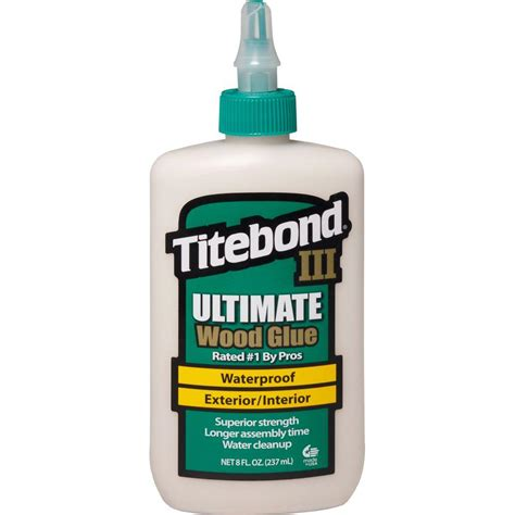 titebond iii 8 oz ultimate wood glue 1413 the home depot