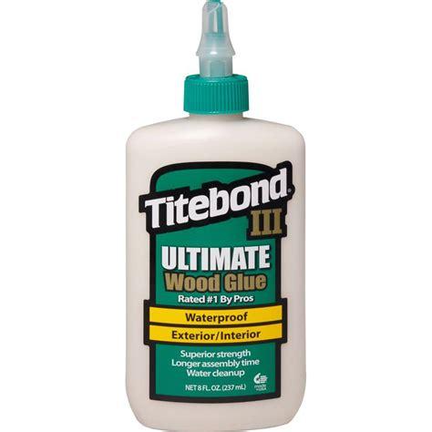 titebond iii 8 oz ultimate wood glue 1413 the home depot