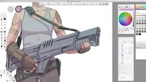 sketchbook software software tips sketchbook pro 7 coloring with kevin mellon