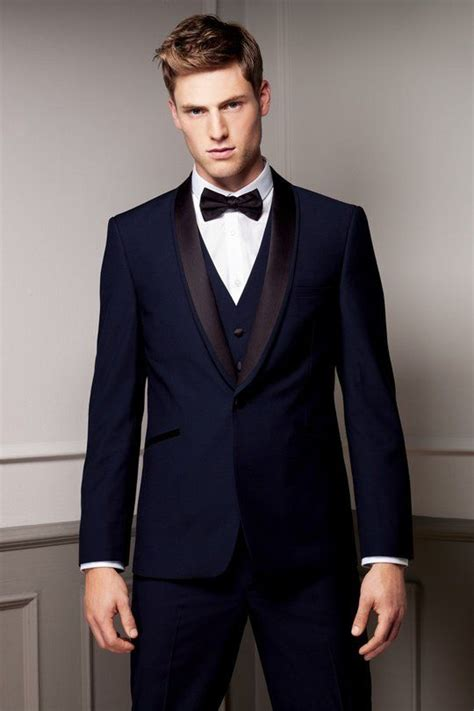 Navy Finder Navy Blue Tux Tuxedo Menswear Formal Or Not So Formal Tuxedos