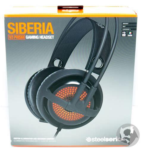 Headset Steelseries Siberia V3 Prism steelseries siberia v3 prism review hardwareheaven